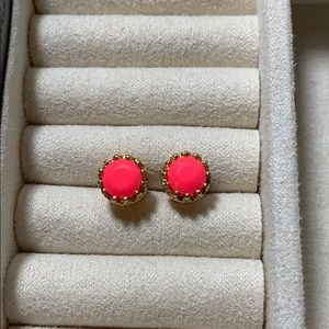 Pink Juicy Couture studs